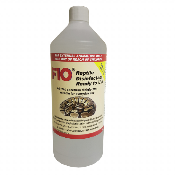 F10 Reptile Disinfectant - Ready To Use